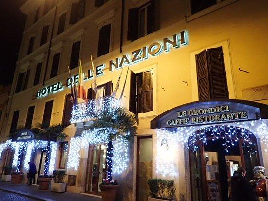 Hotel delle Nazioni: Hotel Restaurant