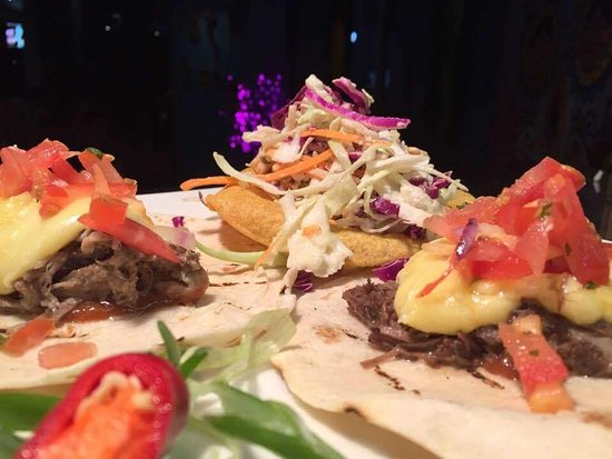 The Prickly Pinata - Fresh Mexican Cantina: Trio of Tacos - Beef, Chicken & Pork