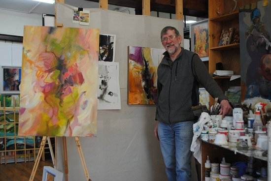 Poultney, VT: Artist Dick Weis gives community painting workshop