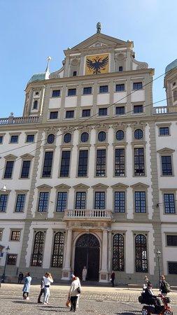 Augsburger Rathaus: Prefeitura de Augsburgo