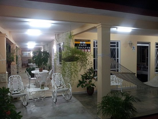 Casa Papo y Niulvys: terraza