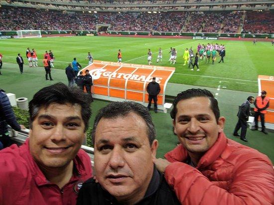 Estadio Omnilife  Necaxa vs Las Chivas 54afe9d7cba