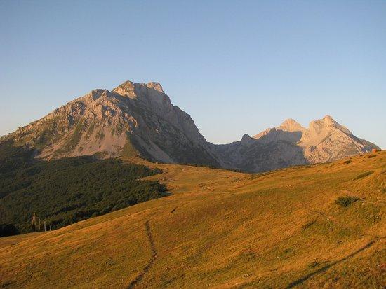 Komovi Mountain Range