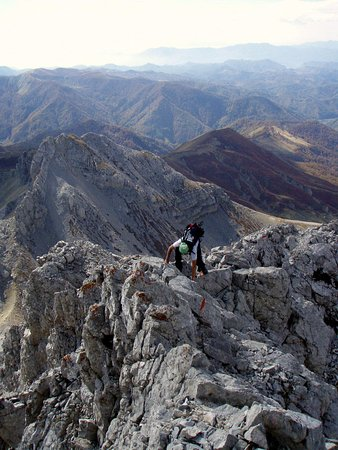 Kolasin, Montenegro: Last meters to the Kucki kom peak (highest one of three)