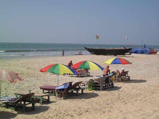 Mango Grove Guest House, Benaulim: la plage de Benaulin
