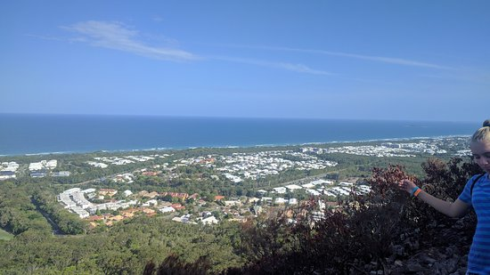 Mount Coolum: View to the ocean.