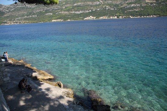 Korcula Town, Kroatien: calas