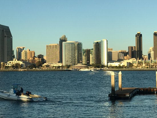 Foto De Flagship Cruises Amp Events San Diego View Of San Diego From Ferry Landing Tripadvisor
