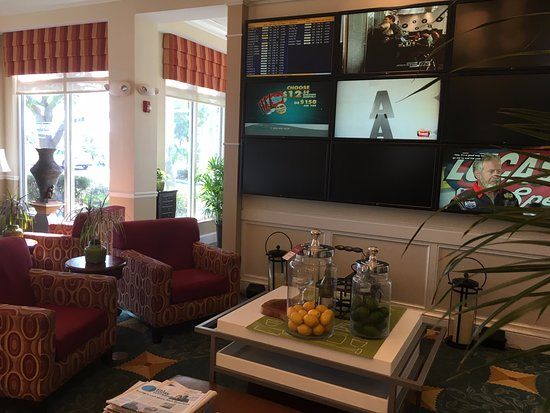 media wall picture of hilton garden inn fort myers airport