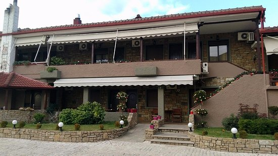 Kallinikos Guesthouse: Дворик отеля