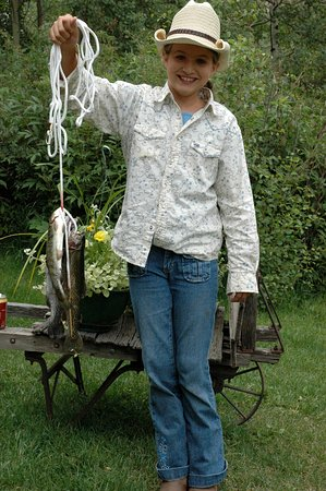 Grant, Κολοράντο: First catch.
