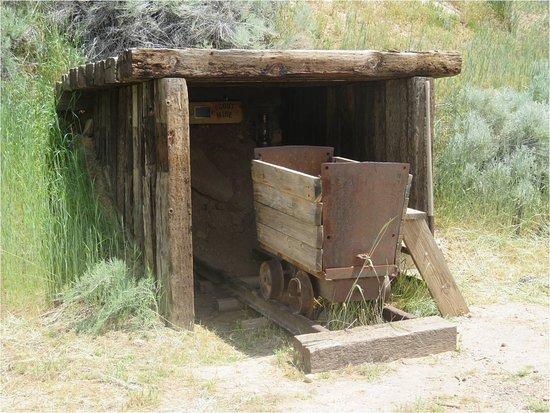 Cedar City, UT: Frontier Homestead - Mining equipment