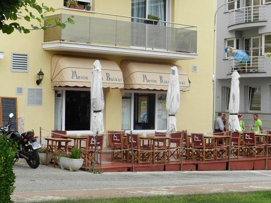 Ferreries, Ισπανία: Esplanada do restaurante