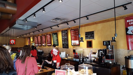 Hot Table Panini: Check-Out Counter