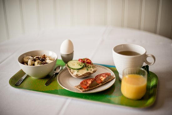 Rostanga, Sweden: Can you resist our delicious and mostly organic breakfast?