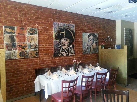 Morristown, نيو جيرسي: Dining area