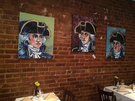 Morristown, نيو جيرسي: Decorative paintings