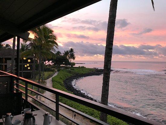 Koa Kea Hotel & Resort: Ocean front morning