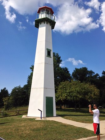 New Buffalo, MI: In honor of lighthouses