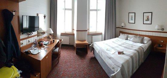 Adria Hotel Prague: Just arrived