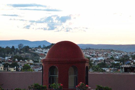 Vista Del Pueblo Desde La Terraza Picture Of Casa Rosada