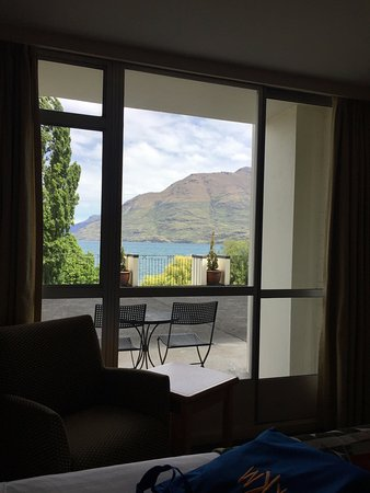 Rydges Lakeland Resort Hotel Queenstown: shared patio