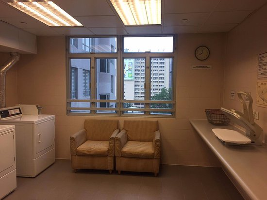 The Salisbury-YMCA of Hong Kong: Laundry Room