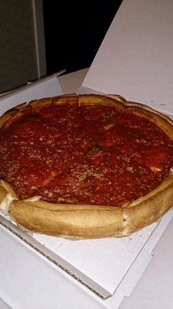 Giordano's: pizza!