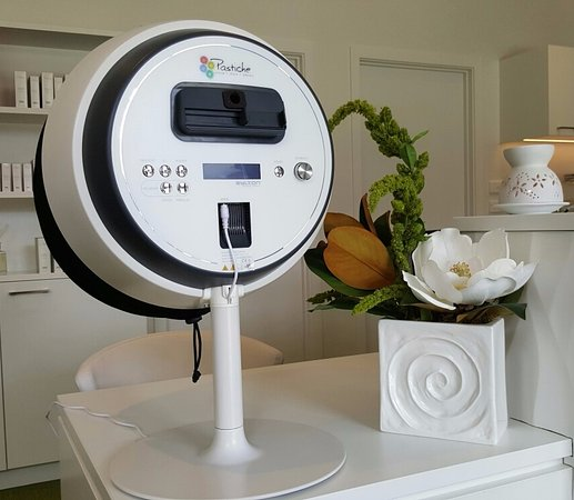 Hanmer Springs, Nueva Zelanda: Pastiche Observ Skin Scanner - For diagnosing skin health