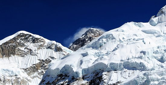 Ace the Himalaya - Private Day Tours: View of Everest from the base camp