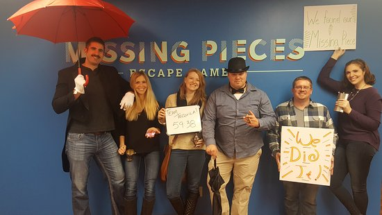‪Missing Pieces Escape Games‬