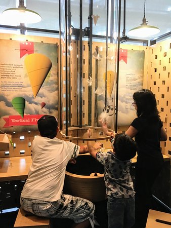 Petrosains Science Discovery Centre: How does the air flow affect different shapes?