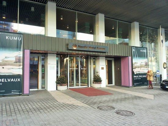 Nordic Hotel Forum: Вход