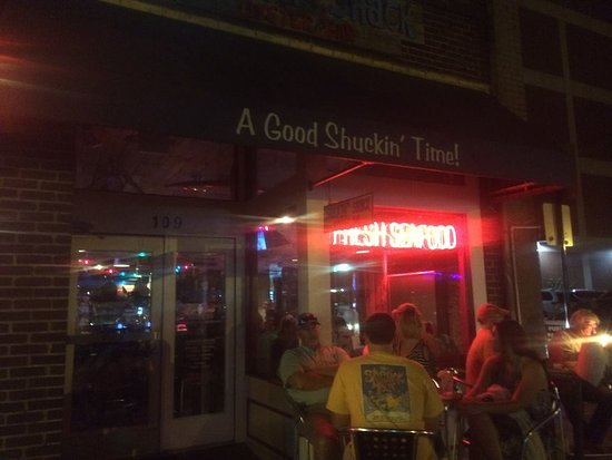 Outside view of the Shuckin Shack..... - Picture of ...
