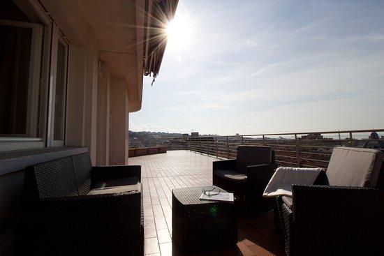 Terrazza privata con vista mare - Picture of Residence le Terrazze ...