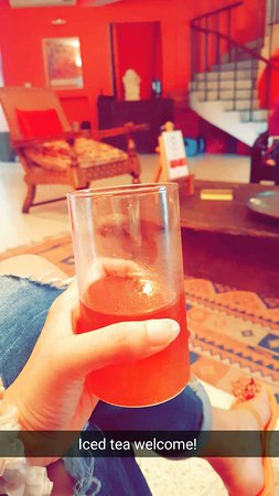 Amarya Villa: My welcome drink!