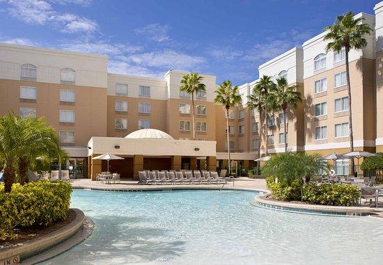 SpringHill Suites Orlando Lake Buena Vista in Marriott Village: Outdoor Pool