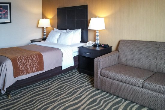 Barrie, Canada: Guest room with sofabed