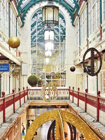 Castle Quarter Arcade: Castle Arcade Balcony