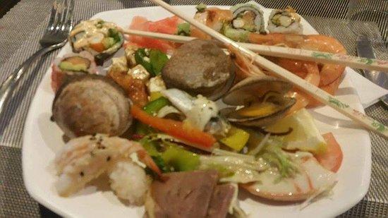 Entr es chaudes bild fr n pacific restaurant gaillard for Entrees froides