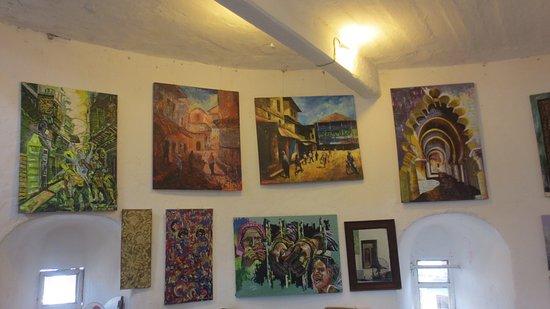 Zanzibar Arts Painting base on history of Zanzibar stone town. - Picture of  Herbert Art Gallery & Museum, Coventry - Tripadvisor