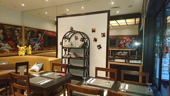 un coin manga foto di otaku restaurant japonais nizza. Black Bedroom Furniture Sets. Home Design Ideas