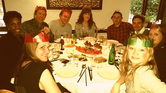 The Golden Elephant: A great office Christmas lunch was had by one and all.