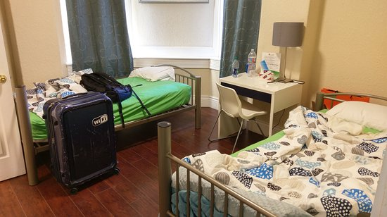 Orange Village Hostel: two-bed private room (ensuite)
