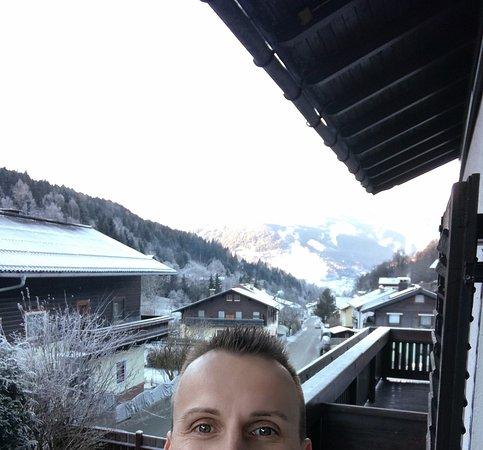 Pension Mühle: Aussicht / Schmittenhöhe