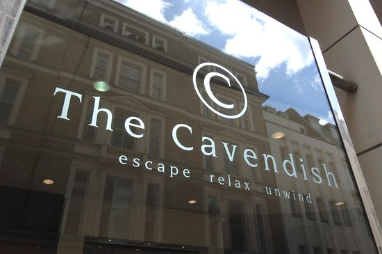 The Cavendish London: Logo on Duke Street
