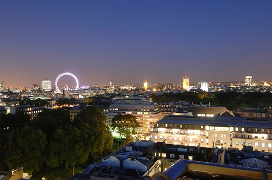 The Cavendish London: View from Guest Room, Night