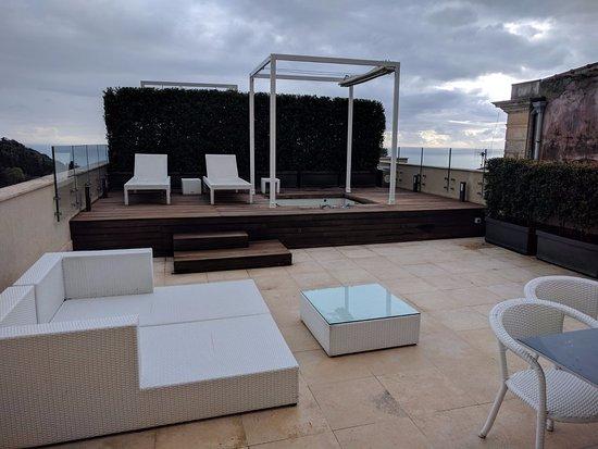 Terrazza della suite! - Picture of NH Collection Taormina, Taormina ...