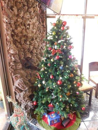 hotel poseidon y restaurante restaurant christmas tree
