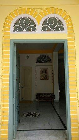 Seventh Heaven Inn Rishikesh: entrance